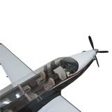 4 Foot Long Pilatus PC-12NG Clear Cabin