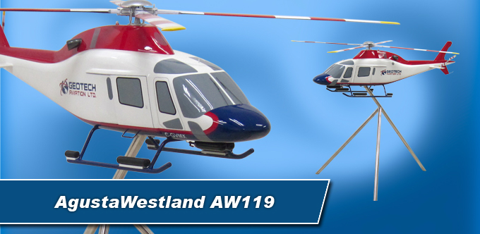 4 Foot Long AgustaWestland AW119