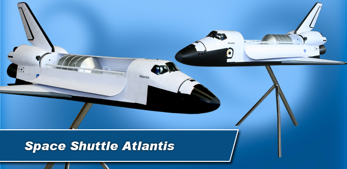 4 Foot Space Shuttle Atlantis