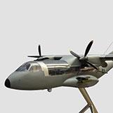 4 Foot CASA CN-235 � Clear Custom Models with Interior Details