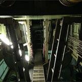 B-24 Liberator Replica shown on Sound Stage During Movie Filming-Brisbane, Australia.