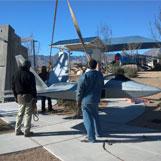 Lockheed Martin F-22 Raptor at Las Vegas, Nevada