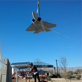 Lockheed Martin F-22 Raptor at Las Vegas, Nevada