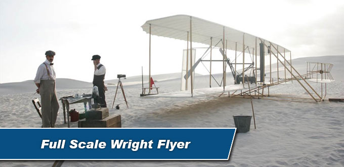 Full Scale Wright Flyer Model