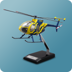 Custom Made Hughes MD-500 Scale Model Helicopter