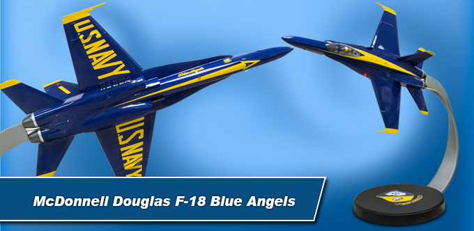 McDonnell Douglas F-18 Blue Angels Large Model