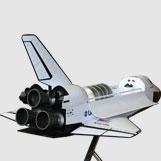 4 Foot Long Space Shuttle Atlantis